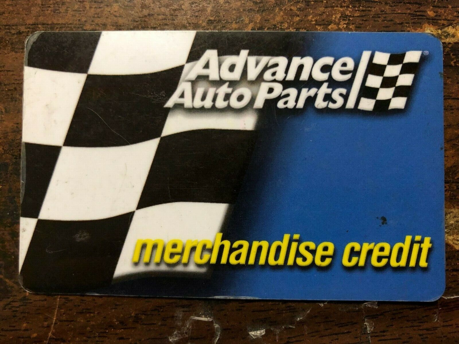 89.91 Advance Auto Parts Gift Card Merchandise Credit BALANCE 89.91 - $76.00