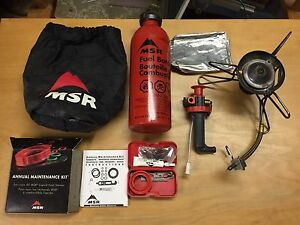 MSR Whisperlite white gas stove mint
