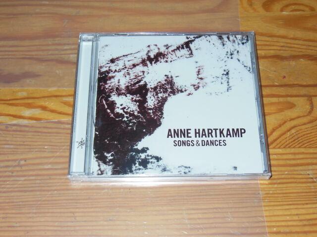 ANNE HARTKAMP - SONGS & DANCES / ALBUM-CD 2016 OVP! SEALED!