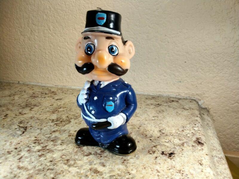 Rare Vintage Police Officer Toy Japan
