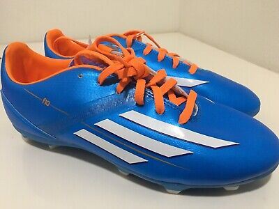 143e90fc4c83 adidas F 10 Sz 3.5 Youth FG Soccer Shoes Orange New