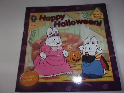 Max and Ruby Happy Halloween Paperback Book - Ruby And Max Halloween