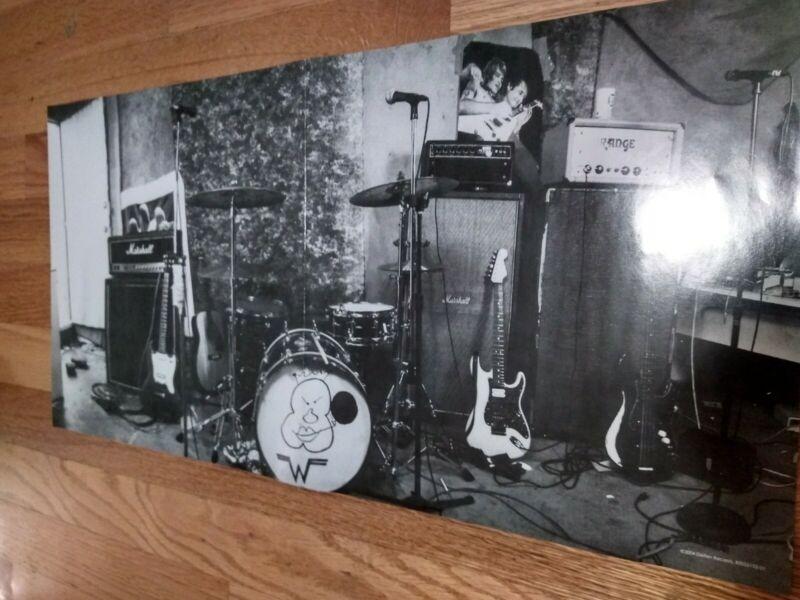"""Weezer """"BLUE ALBUM"""" Poster 21.5"""" X 11"""""""