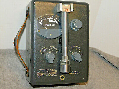 General Radio Sound Level Meter 1551-b Vintage Test Equipment