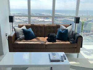 [SAVE $1000] EQ3 Reverie Apartment Sofa - Classic Sahara