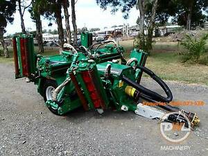 TEXTRON RANSOMES TG4650 GANG FAIRWAY GREENS CYLINDER REEL MOWER Austral Liverpool Area Preview