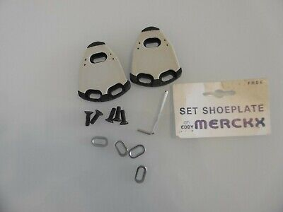 Eddy Merckx Shoe Plate Cleat Set Free-Float NOS