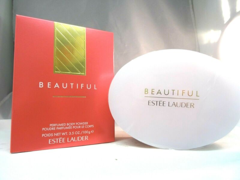 ESTEE LAUDER BEAUTIFUL PERFUMED BODY POWDER - 3.5 OZ - NEW IN BOX