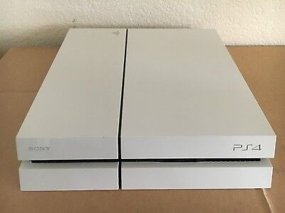Sony PlayStation 4 PS4 500GB Glacier White Gaming System Console Only