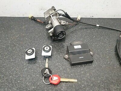 YAMAHA XMAX 125 YP 125 2014 - 2016 IGNITION LOCKSET WITH ECU 3 KEYS READ ADD