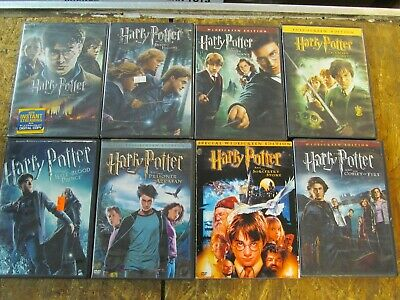 8 - HARRY POTTER --- DVD Collection Set       (Lot 14534)