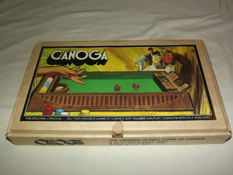 VINTAGE DICE 1972 PACIFIC GAME OF CANOGA NICE!