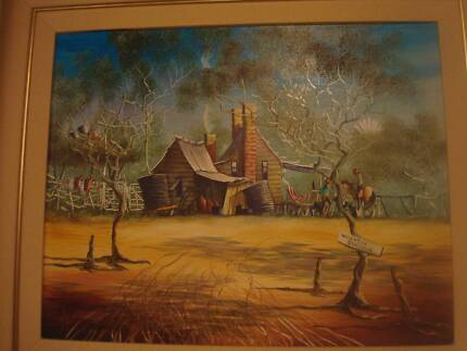 "Max Mannix original entitled ""Middleton's Rouseabout"". Port Macquarie 2444 Port Macquarie City Preview"