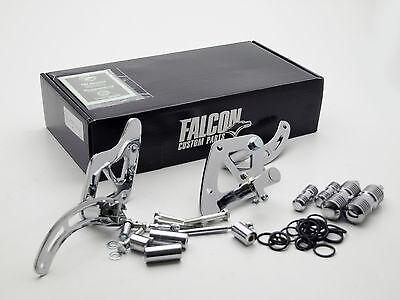 Vorverlegte Fußrastenanlage Falcon Round Style Suzuki VS 1400 Intruder