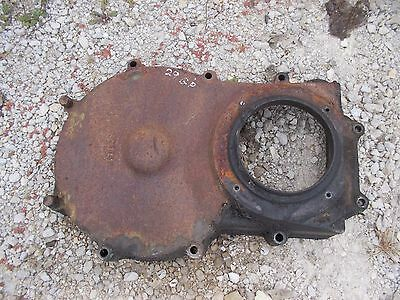1929 Unstyled John Deere Gp Tractor Jd Clutch 1st Red. Gear Cover Panel C184r