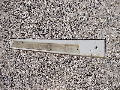International 656 Rc Tractor Ihc White Left Front Side Hood Engine Panel