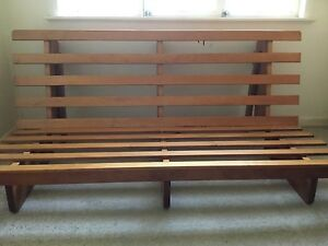 Double bed Wood Futon bed frame Salisbury Brisbane South West Preview