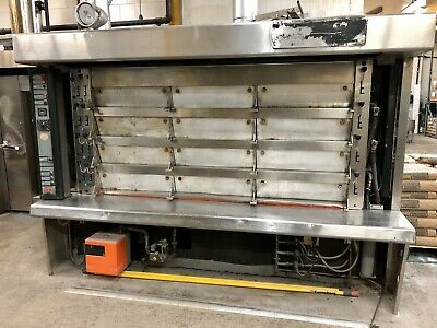 Used Commercial Oven Bongard 12 Door Bakery Equipment Must Go
