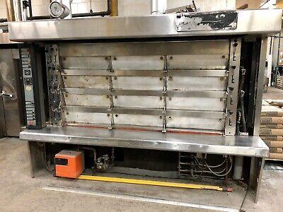 Used Commercial Oven Bongard 12 Door Bakery Equipment Must Go