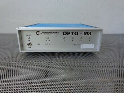 Columbus Instruments Opto-m3 4-channel Animal Activity Data Processing Monitor