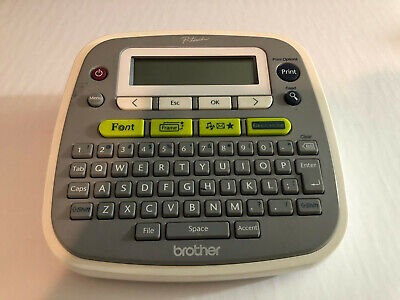 Brother Pt-d200 Label Thermal Printer Label Maker No Tapes No Power Adapter