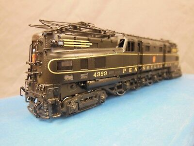 HO SCALE BRASS ALPHA MODELS PENNSYLVANIA R-1 ELECTRIC LOCOMOTIVE