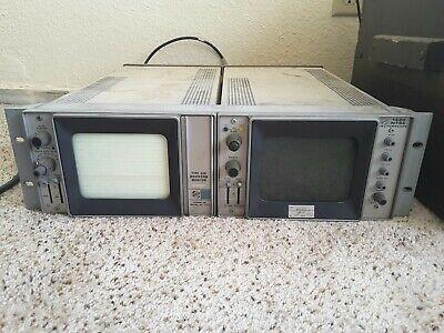 Tektronix Type 528 Waveform Monitor 1420 Ntsc Vectorscope Turns On Rack...