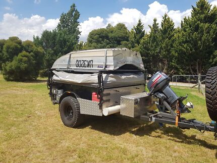 Lifestyle off-road camper with boat Wodonga Wodonga Area Preview