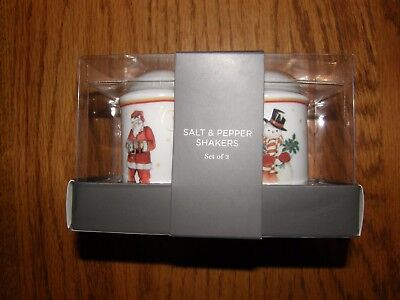 Williams Sonoma Twas The Night Before Christmas Salt   Pepper Shakers New