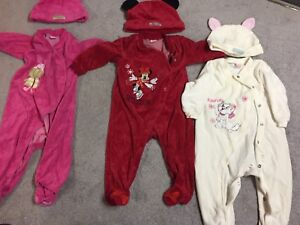 Baby Girl clothing. 6 month, 9 month and 6-12 month.