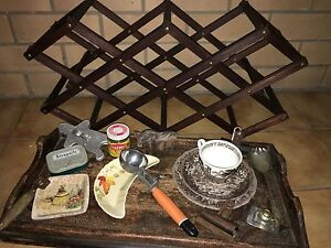 Very old / rare  collectable kitchenware items bundled Moorooka Brisbane South West Preview