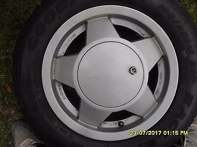 TWR ALLOY WHEELS WITH 185/60R13 TYRES SET OF FOUR CASH ON COLLECTION PLEASE for sale  Crawley