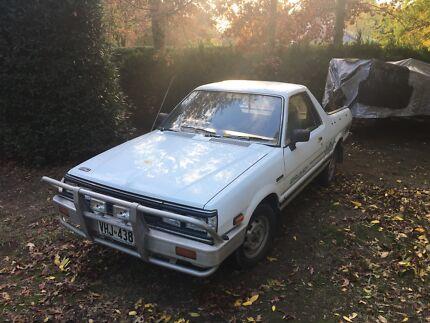 1992 Subaru Brumby Other