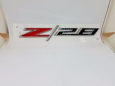 1993-2002 Chevrolet Camaro Front Fender Black Z28 EMBLEM new OEM 10139552