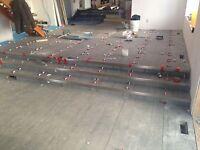 Tile and hardwood installs