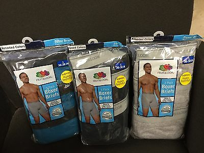 สำหรับขาย FRUIT OF THE LOOM BOXER BRIEFS 9 IN A PACK ASST COLORS 100% COTTON
