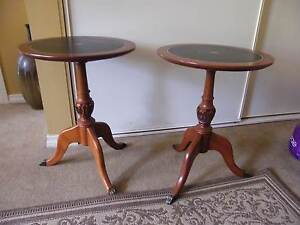 Anitque reproduction round side tables Strathalbyn Alexandrina Area Preview