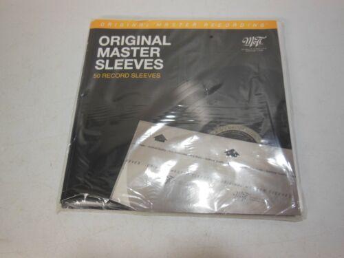 50 Master Sleeves Mobile Fidelity Sound Lab MFSL MoFi Archival LP Vinyl Record