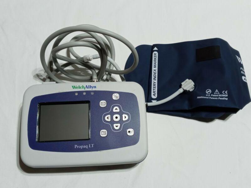 Welch Allyn Propaq LT Vital Signs Monitor SpO2 -ecg-ekg nibp/psni