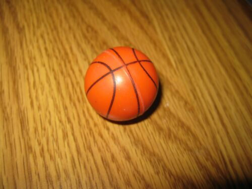 MINI BASKETBALL -  DOLL HOUSE MINIATURE - NEW - Solid Rubber    Free Shipping