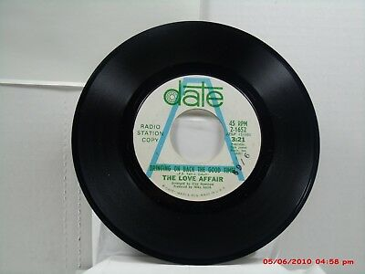 THE LOVE AFFAIR-(45)-PROMO  BRINGING ON BACK THE GOOD TIMES / ANOTHER DAY -