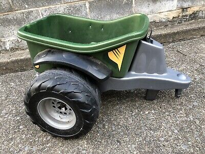 Vintage Fisher Price Power Wheels Kawasaki Brute Dump Trailer Wagon Hitch ONLY!!