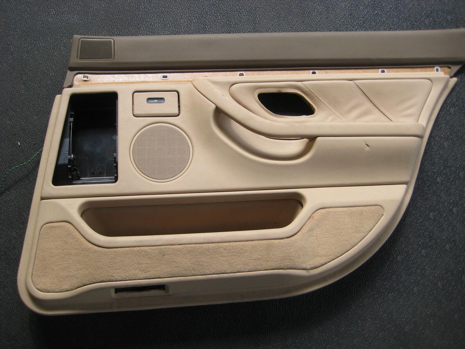 174 bmw 740i 740il 750il 1995 front premium interior door handle - Bmw E1938 Beige Passenger Right Side Rear Door Panel 1995 2001 740i 740il