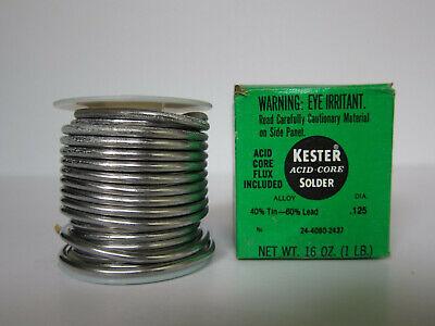 Kester Acid Core Flux 4060 Solder 24-4060-2437