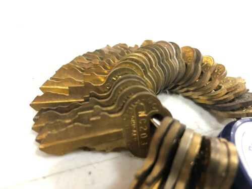 ORIGINAL Northwestern Gumball Peanut Machine Key for Lock NC 87