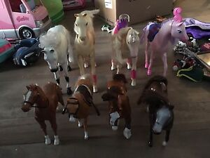 Cheval a barbie