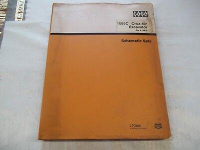 Case 1085C Cruz-Air Electrical & Hydraulic Schematics & Troubleshooting Manual
