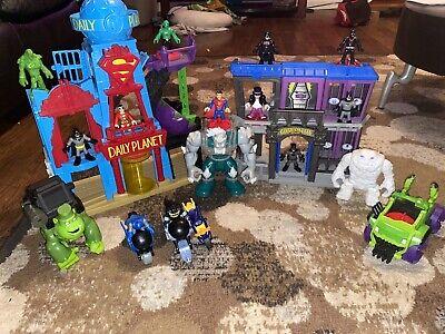 Imaginext DC Super Friends Lot WHITE CLAYFACE figure snow Clay Face, Dooms Day