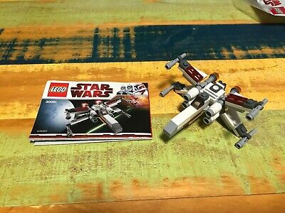 LEGO Star Wars 30051 Mini X-Wing Starfighter - w instructions - SEE NOTE