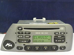 Ford ka 2001 radio problems